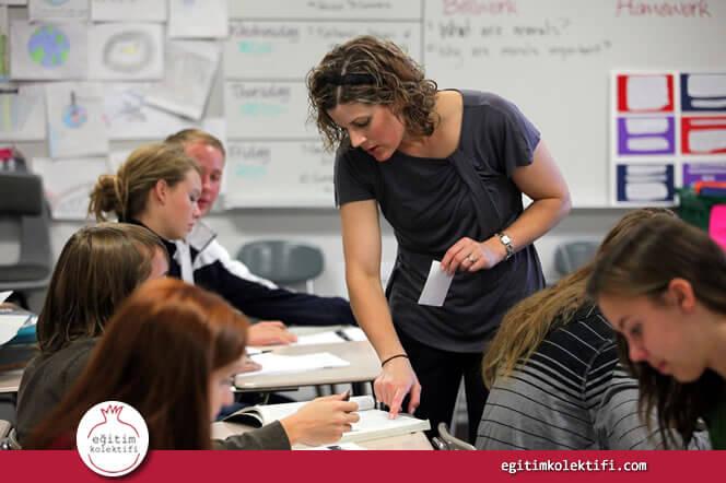 Öğretmenler olarak bütün öğrencilerimize sahip olabilecekleri en iyi öğrenme şansını vermekle yükümlüyüz.