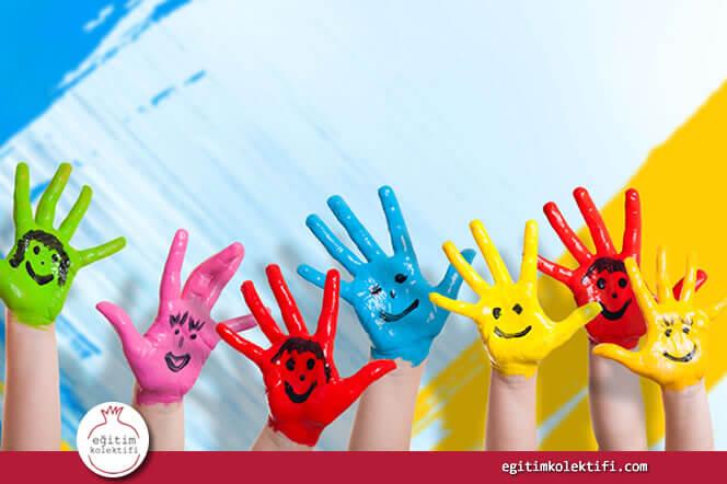 Pekçok sanat formu çocukların hep birlikte çalışmasını gerektirir.