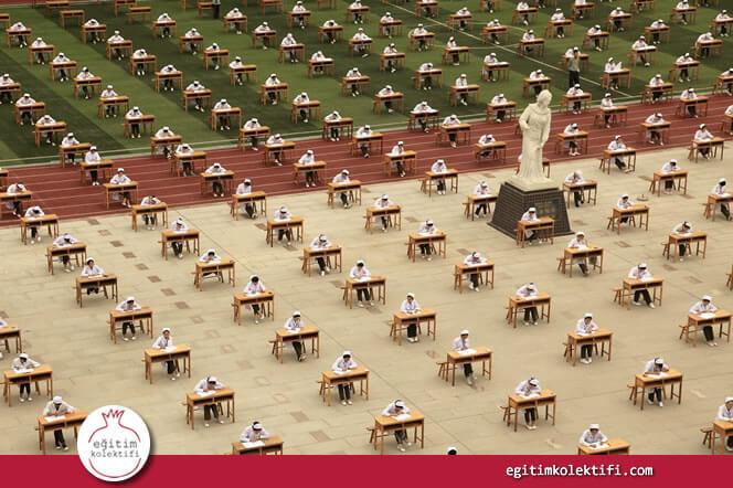 Sıralama ve ezber ölçen büyük çaplı sınavlar çocukların öğrenmesini sağlamaz.