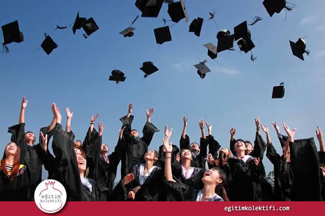 Özel okul mezunlarının neredeyse tümü özel üniversitelere devam etmektedir.