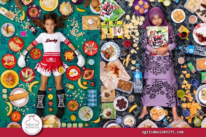 Dünya Çocuklarının Şaşırtıcı Yemekleri