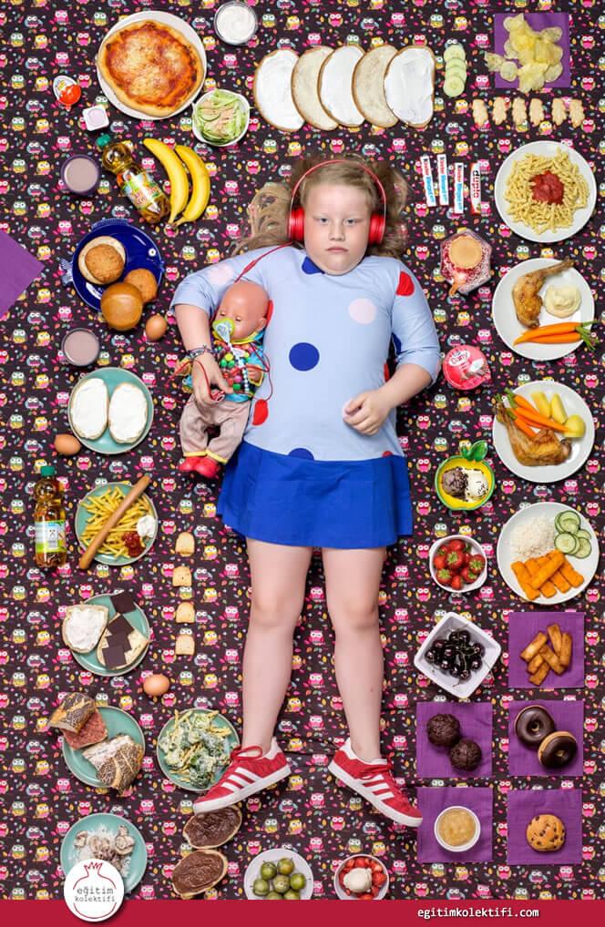Greta Moeller, 7yaşında ve Hamburg Almanya'da yaşıyor.
