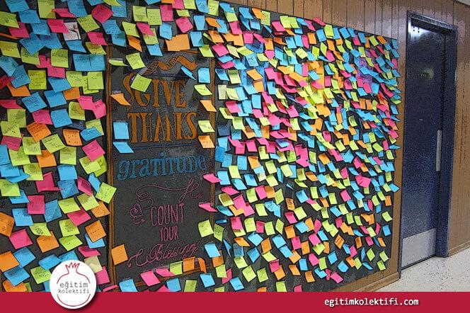 Okul ve Sınıf duvarları herkesindir.