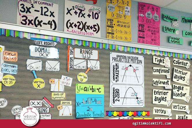 Öğrencilerinizin başarılarının en iyiden başlayarak sıralandığı, notların yazıldığı listeleri duvarlarınıza asmayın.