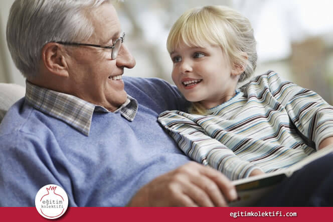 Büyükbaba ile büyükanneden destek alan torunların özgüveni yüksek olur.
