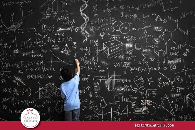 Hem dört işlemin hem de hayatı kavramanın temelinde matematik birikimi yatar.